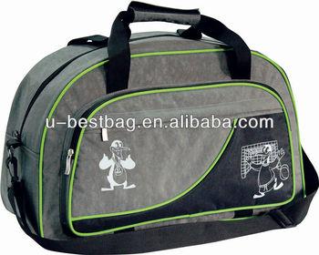 2014 Fashion 400D Wash Nylon Zip Travel Bag For Sale