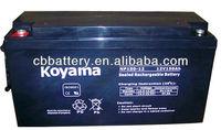 Storage Battery NP150-12-12V150AH lead acid battery battery, AGM Battery, VRLA Battery