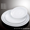 China houseware ceramic plate from chaozhou factory