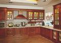 Gabinetes de cocina de color cereza/cerezo americano cocina gabinetes de madera