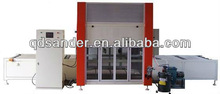 Automatic spray wood painting machine