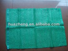 virgin pe mesh bag green raschel weaving for vegetable packing genuine factory
