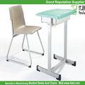 de plástico moderno escritorio de la escuela de muebles
