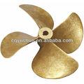 Tamanho pequeno da hélice do barco/pequena hélice de bronze