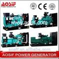 20kw a 2000kw prezzo generatori diesel alimentato da Cummins, diesel generatorel, piccolo generatore diesel silenzioso prezzo stabilito