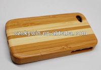 low price small custom bamboo handphone case on sale