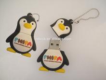 Penguin USB flash drive, PVC 8GB Novelty Cute Baby Penguin USB 2.0 Flash Drive Data Memory Stick Device pens