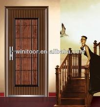 Steel Door Main Gate Designs In Fujian (WNT-ST389)