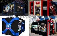 cinema motion simulator 5D amusement ride portable