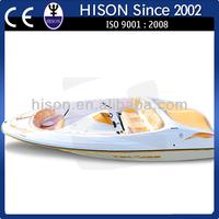 2014 Brand Hison family Motor jet Boat, CE proved, hot sale!