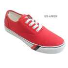 low price 2015 new style guangdong canvas shoes for vans