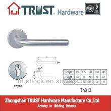 TH013:trust stainless steel hollow main door handle