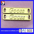 Fashion Customized Gold Metal Label Clothing