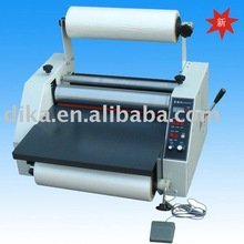 hot and cold 2 roll of plastic Laminator for laminating