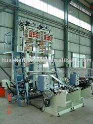 Double head Huashan Plastic Film Machine with Corona
