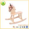 Children Play Craft Balance Wooden Rocking Horse Toy