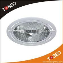 CFL aluminium round 26w plc
