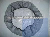 Disposable Nylon hair net in white/black