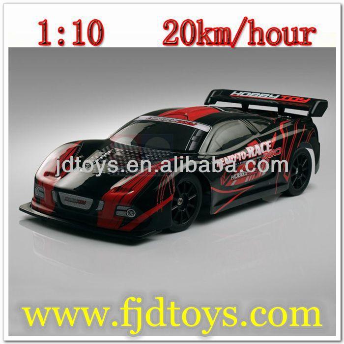 ขนาด1: 10รถความเร็วสูงบน- ถนนแบบrc
