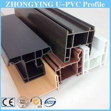 Guangdong direct manufacturer soundproof pvc window profile rehau