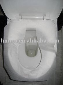 Travel toilet seat cover