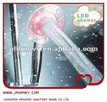 abs luxury gift led shower sprayers