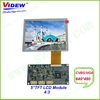 5inch TFT LCD Module with pushbutton adjustment and OSD menu display