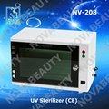Nv-208 de nova venda quente esterilizador uv, máquina de esterilização para uso do salão de beleza ( ce aprovado )