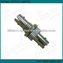 Singlemode simplex SMA ST fiber optical adaptor