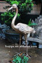 outdoor bronze sculpture garden sculpture metal animal sculpture