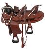 Double seatwestern saddle