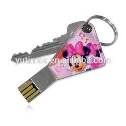 High quality free sample low price wholesale key usb flash drive 8gb