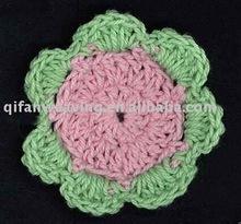 Factory customized Crochet flower Brooch