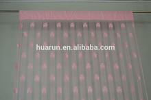 jacquard 100% polyester hanging curtain