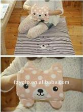 Roll Up Travel Fleece Blankets