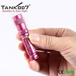 Waterproof mini led flashlight TANK007 E09