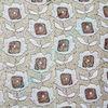 Polyester cotton jacquard yarn dye sunflower sofa fabric