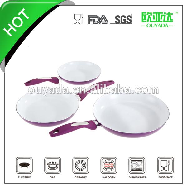 white as seen on tv ceramic fry pan
