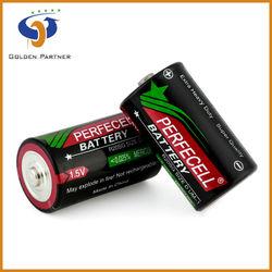 Reliable quality 1.5V um1 r20 dry battery