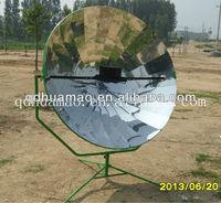 parabolic mirror aluminum solar rice cooker for boil.stew,roast