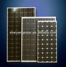 120W Mono-crystalline silicon solar module
