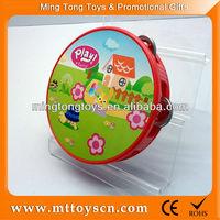 14cm customized design wholesale plastic tambourine