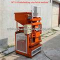 Wt1-10 hidráulico de arcilla de ladrillo de prensa