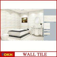 Wall copper metal tiles