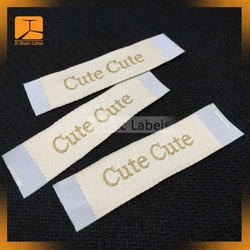 Custom cheap iron on labels for clothing