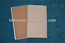 perforated elastic skin color hot cold shoulder pad