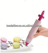 Food grade Decorating silicone pen silicone decorating pen