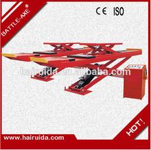 "manufacture&export ""Battle-Axe""brand 4000kgs scissor design hydraulic scissor car lift with CE&ISO"