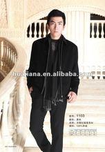 men 100% Cashmere jacket coat for winter