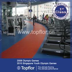 Gym Floor Mat/PVC Sports Floor Covering